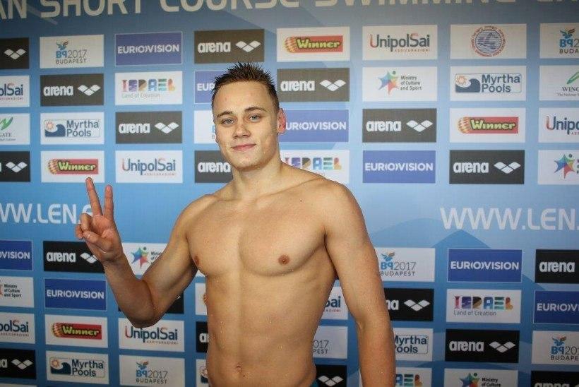 Rahvusrekordiga EMil poolfinaali ujunud 17aastane Zaitsev: olen väga üllatunud!