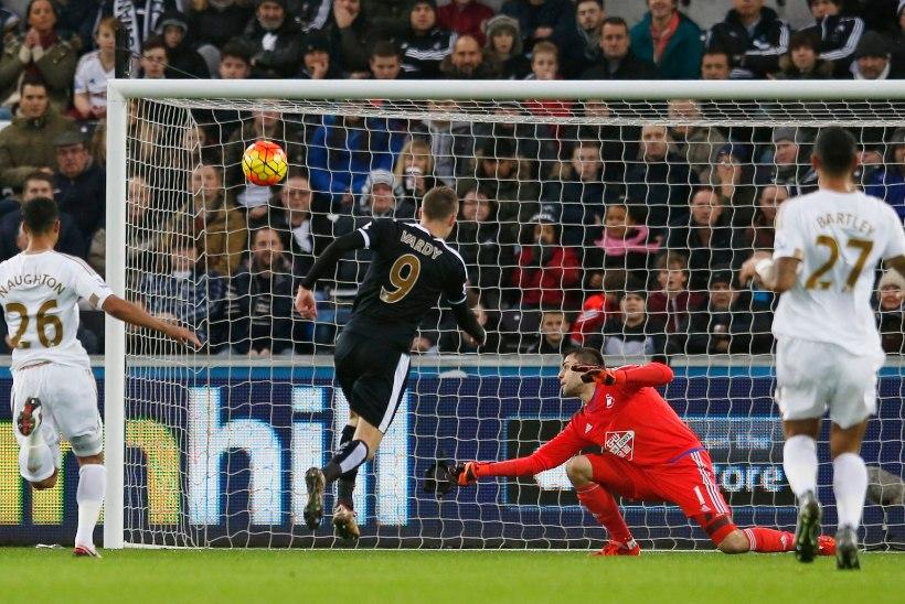 Vardy seeria lõppes, aga Leicesteri tõusis taas liiga tippu, ManU kaotas punkte