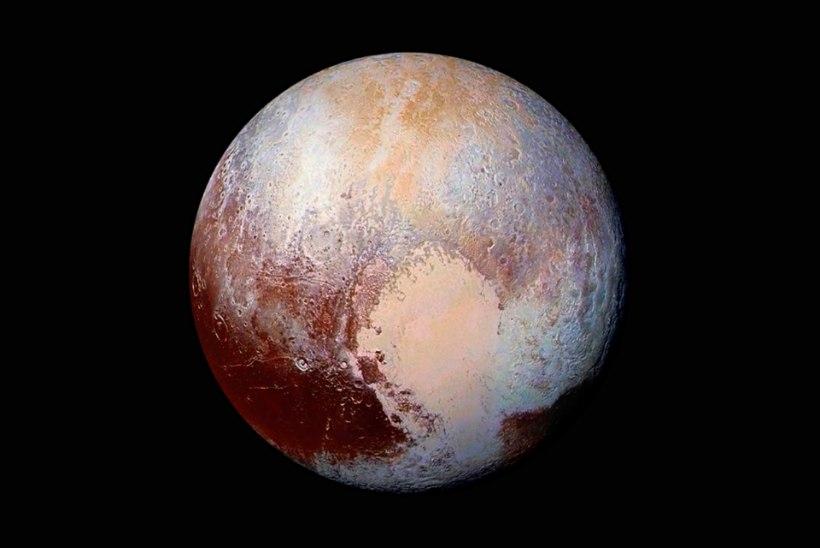 VAPUSTAV! NASA avaldas seni selgeimad fotod Pluuto pinnast