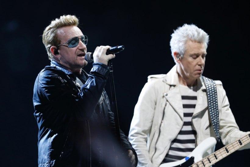 U2 pühendas laulu terroriohvritele