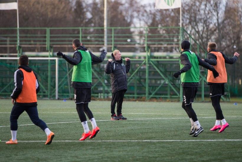 GALERII | Levadia alustas uue juhendajaga treeninguid, ettevalmistustsüklis ka Hunt ja Kruglov