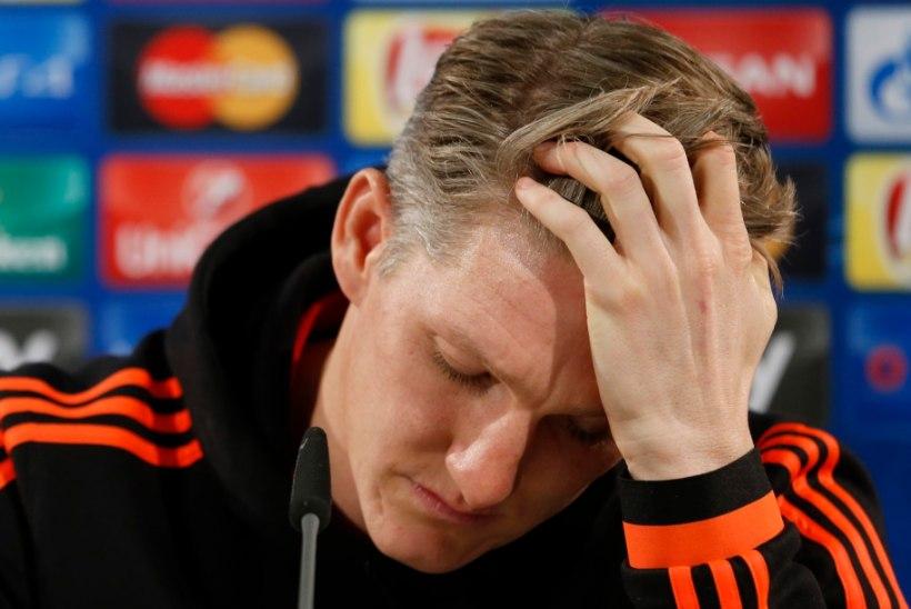 VIDEO INTSIDENDIST | Jalgpalliliit võib vastast küünarnukiga näkku löönud Schweinsteigerit karistada
