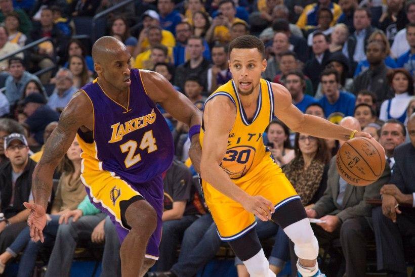Curry viskas kaks korda rohkem punkte, kui oli Bryanti viskeprotsent!