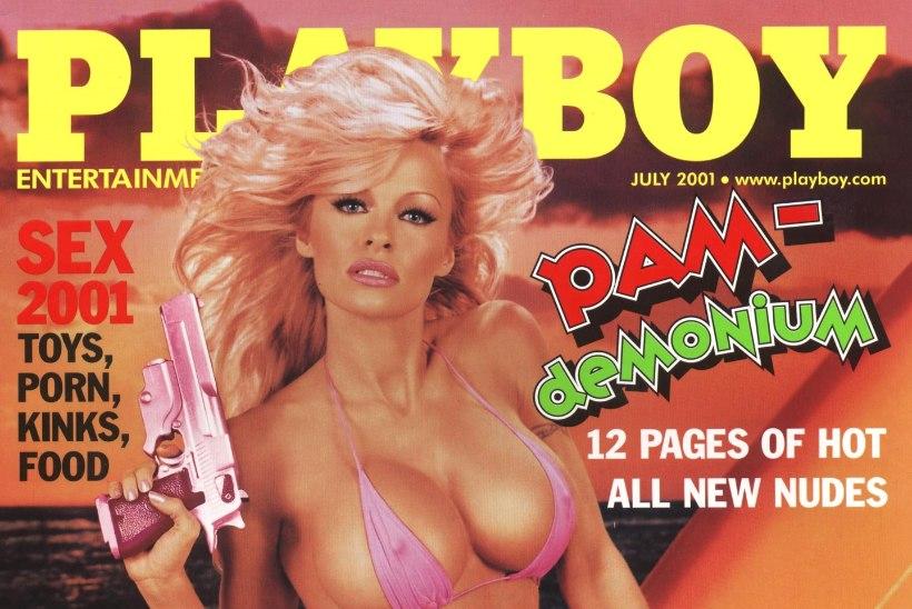 Pammy on Playboy viimne alastimodell