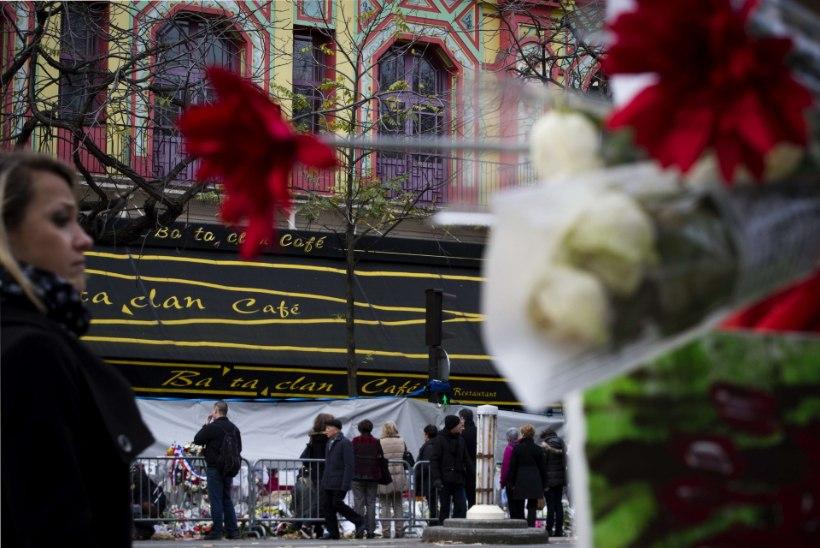 Prantsuse politsei tuvastas Bataclani kontserdimaja rünnanud kolmanda terroristi isiku