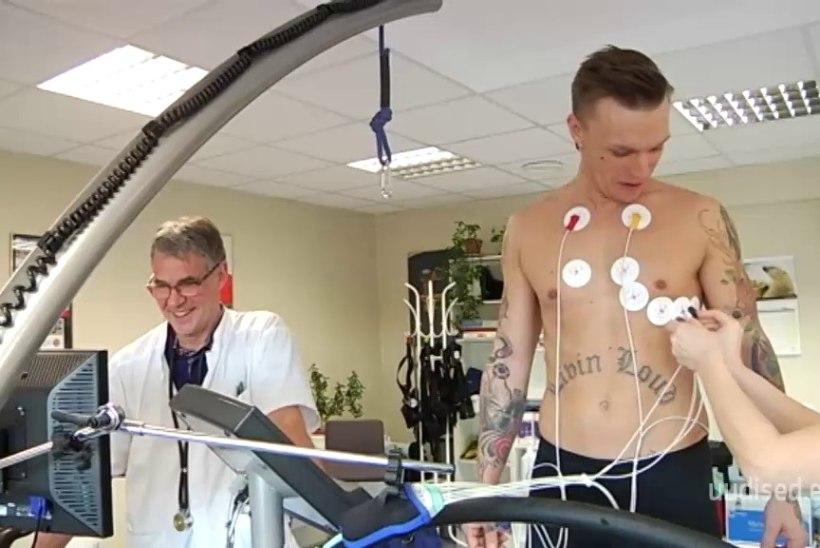 TV3 VIDEO   ÜLE KESKMISE EESTI MEES: Tanel Padari füüsilised näitajad ei ole lihtsalt head, vaid väga head
