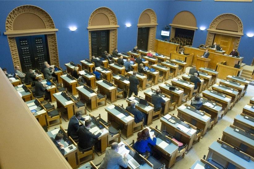 Riigikogu võttis vastu järgmise aasta riigieelarve