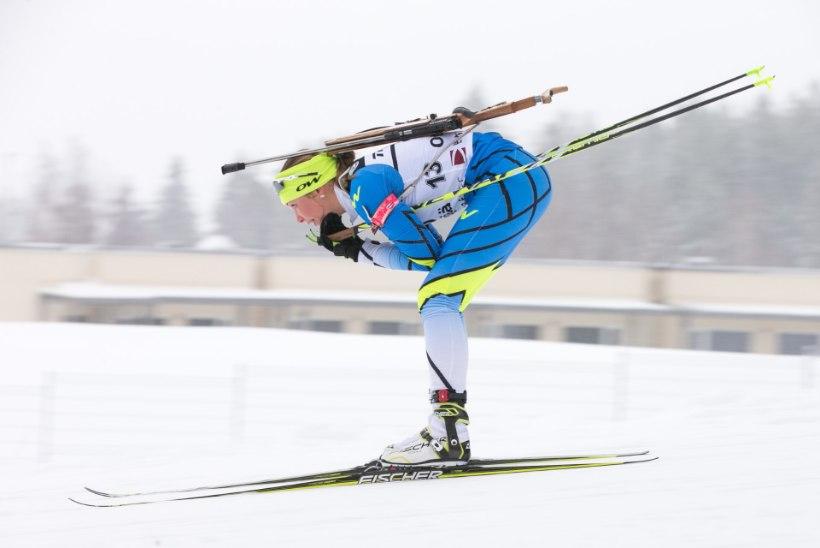 LASKESUUSATAMISE EM OTEPÄÄL | GALERII: Regina Oja tegi ka jälitussõidus tubli võistluse