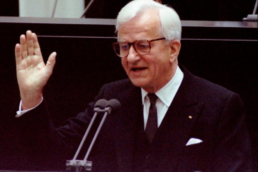 Ilves avaldas Saksamaale kaastunnet endise riigipea surma puhul