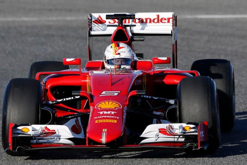 GALERII | Red Bulli tsirkus, Mercedese võim ja McLareni hädad - F1 alustas testidega