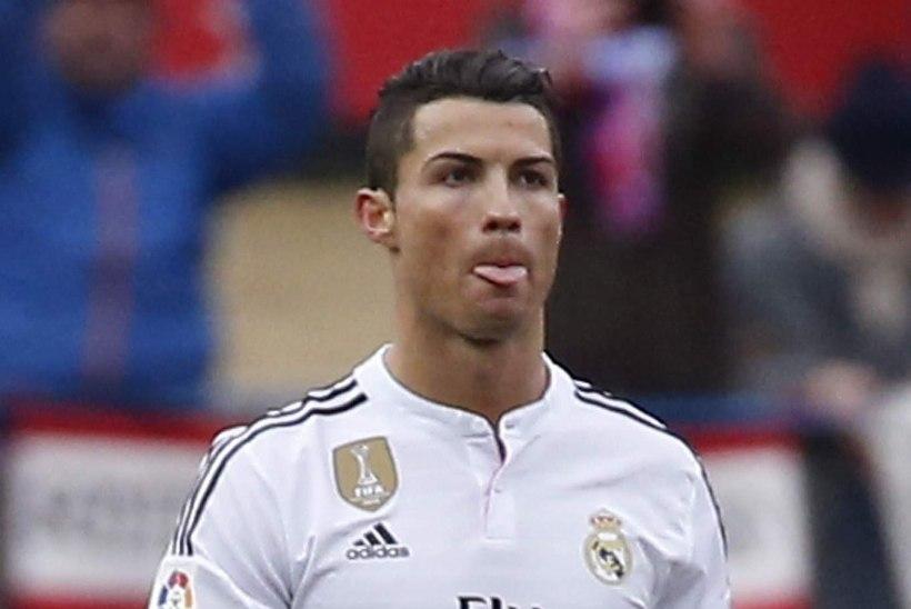 Cristiano Ronaldo mõõnas ja Real hädas