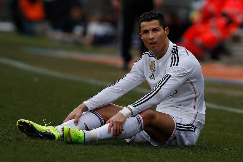 VIDEO: Atleticolt saadud kolakas Cristiano Ronaldolt peotuju ära ei võtnud