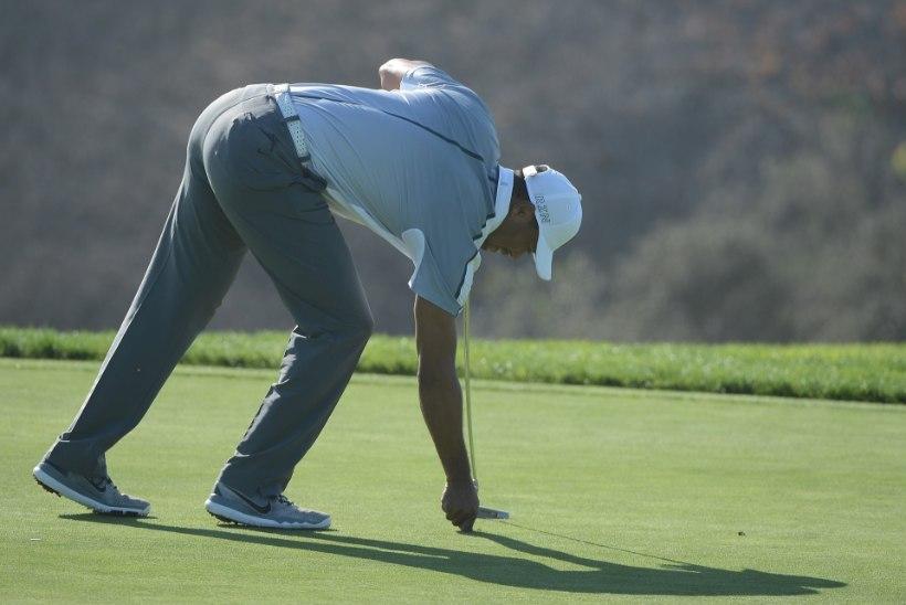 Tiger Woods võtab aja maha