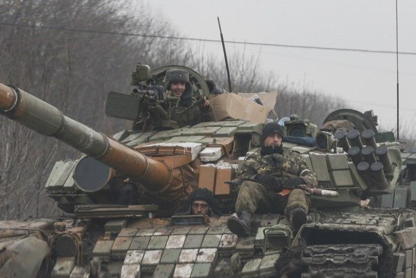 Kiievi teatel tuli öösel üle piiri kümneid tanke, soomukeid ja raketiheitjaid