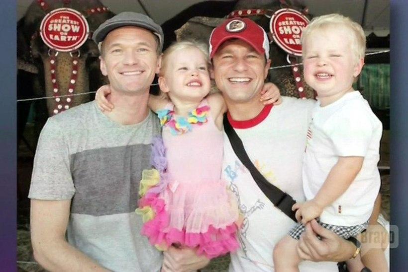 Homoabielus Neil Patrick Harris: tema on lastele issi, mina olen papa