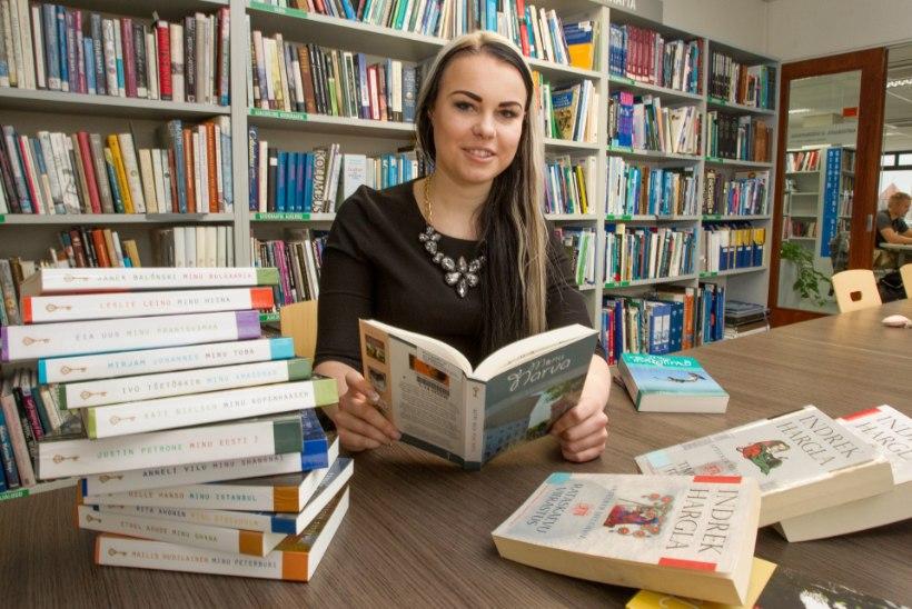 Sinijärv: raamatukogudest laenutatakse kergemat lugemist