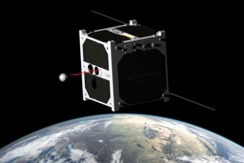 Mis saab Eesti satelliidist, enne kui ta alla kukkudes ära põleb?