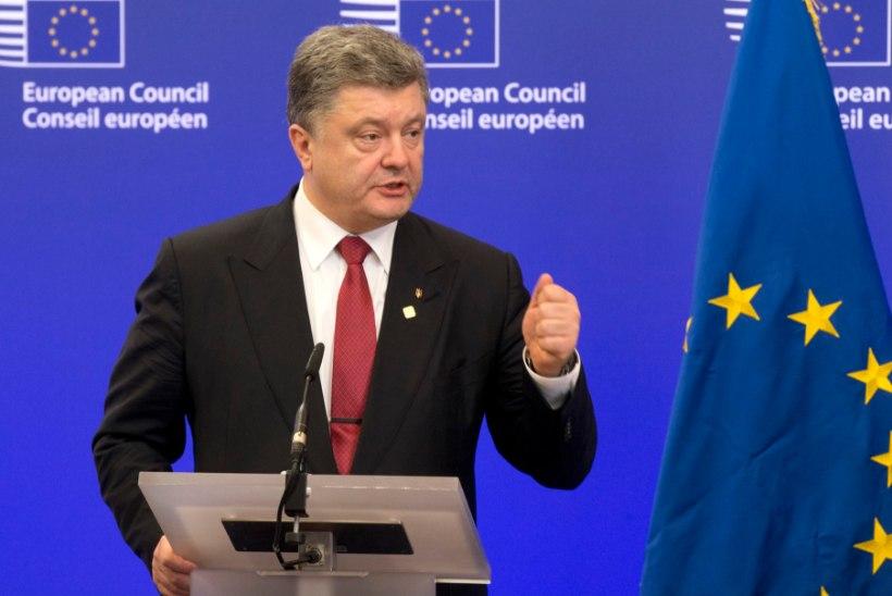 Porošenko: kohe, kui leping oli alla kirjutatud, alustasid Venemaa toetatud terroristid rünnakut