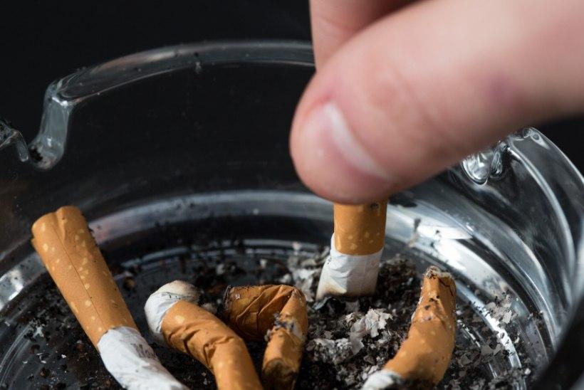 Suitsetajad surevad mittesuitsetajatest kümme aastat varem