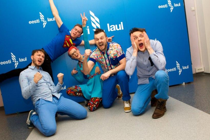 ÕHTULEHE VIDEO | Kali Briis Band finaalipääsust: vapustav, ei oskagi reageerida!