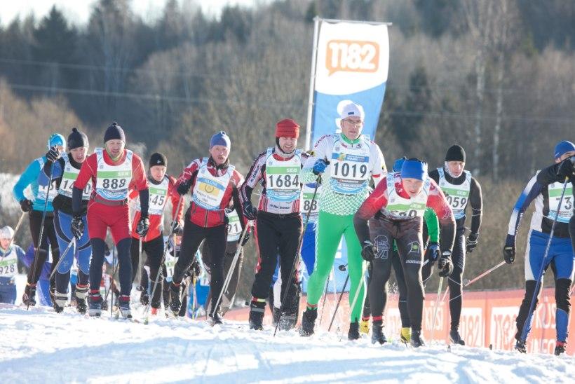 43. Tartu Maratoni üritustel nautis suusamõnusid 8000 inimest