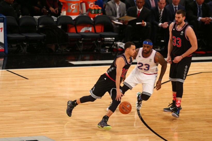 GALERII: NBA tähtede mängus püstitati võimas rekord!