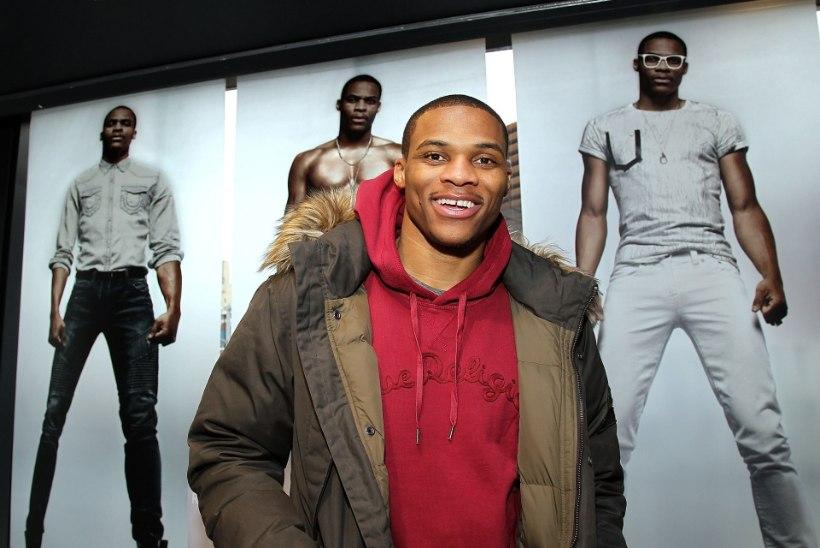 NBA tähtede mängu MVP Westbrook tahab luua oma moeimpeeriumit!