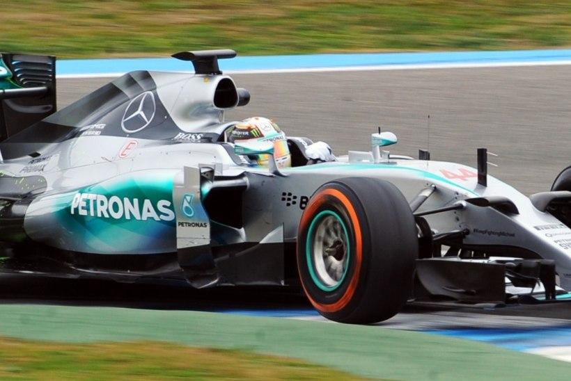 GALERII   Vormel-ühed jätkasid Jerezis testidega: Vettel taas kiireim, Kvjat kihutas esitiivata