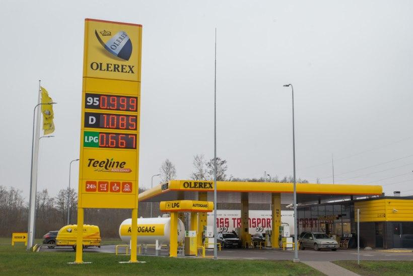 Olerex avas Murastes 50. tankla