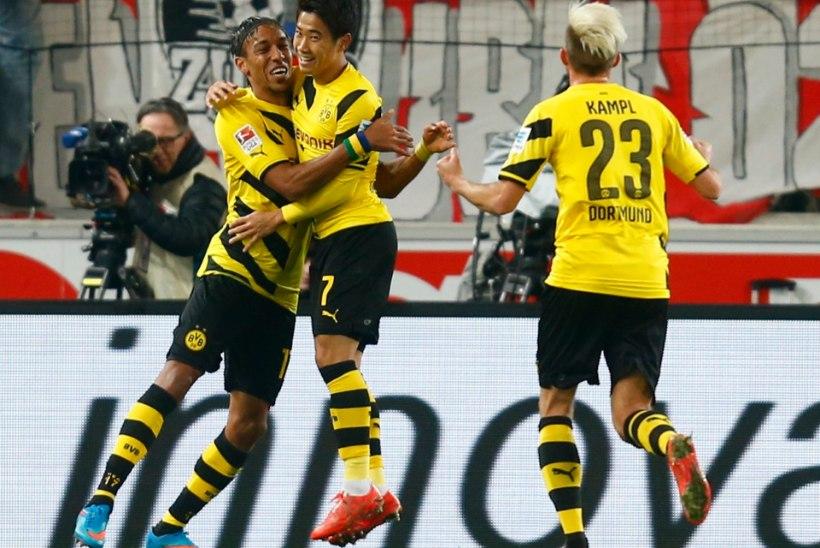 GALERII: võidusoone leidnud Dortmundi Borussia on tõusnud juba kümnendaks
