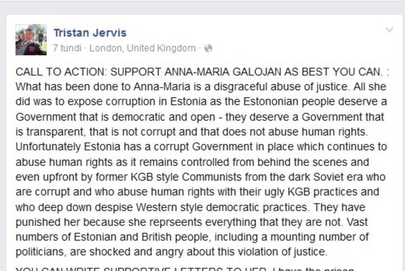 Briti härrasmees palub Galojani toetada: see, mis Anna-Mariaga tehti, on häbiväärne õiguse kuritarvitamine