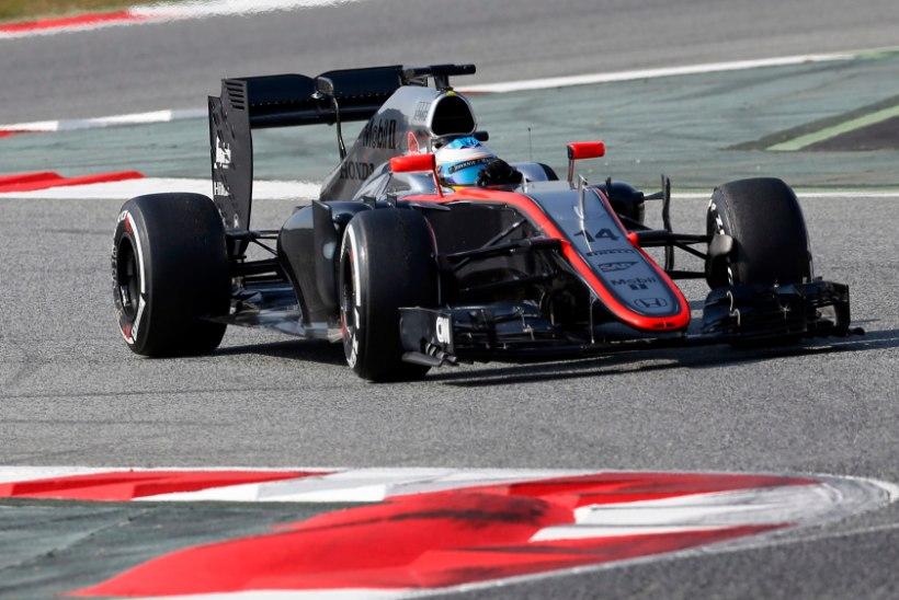 PROBLEEMID: McLareni masina kohal hõljuvad murepilved