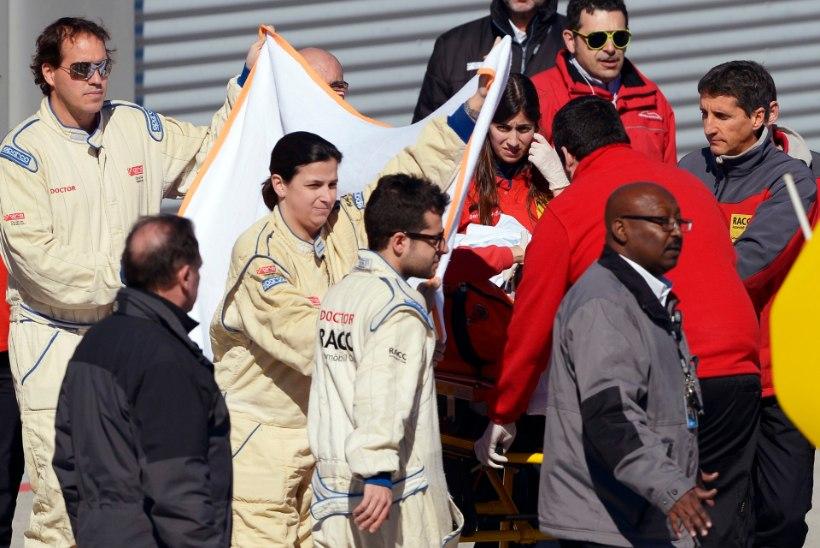 McLaren: Alonso õnnetuse põhjustas tugev tuul