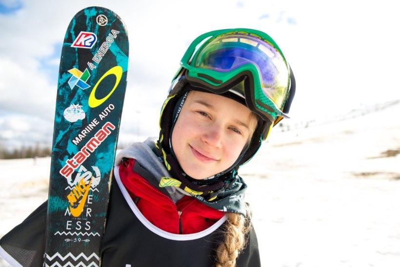 Kelly Sildaru ideaalne sünnipäev: sõpradega Alpides suusatamas