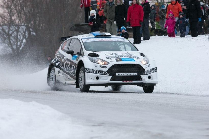 VIDEOD: vaata Sander Pärna võiduga lõppenud Võrumaa talveralli parimaid hetki!