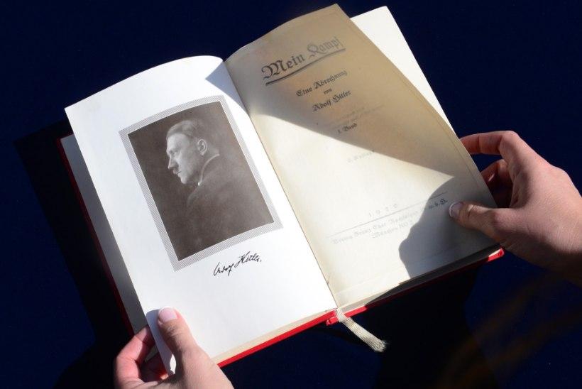 """Hitleri """"Mein Kampf"""" taasilmub Saksamaal ajalooallikana"""
