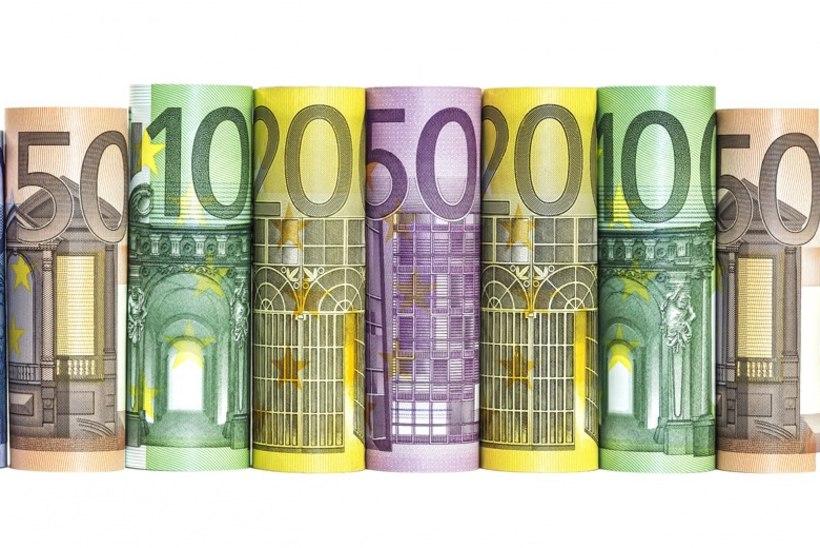 Statistikaamet: keskmine palk kerkis taas üle 1000 euro