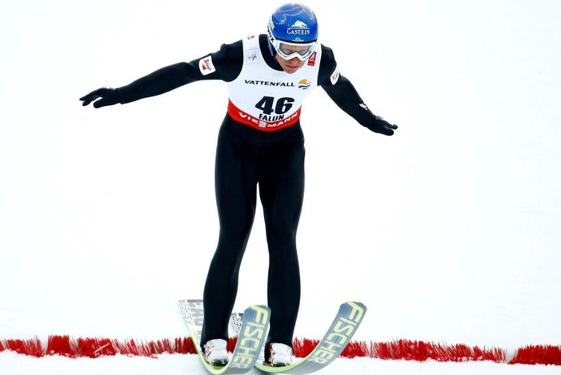 FALUNI MM   Gruber kahevõistluse hüppe parim, eestlased viimase veerandi seas
