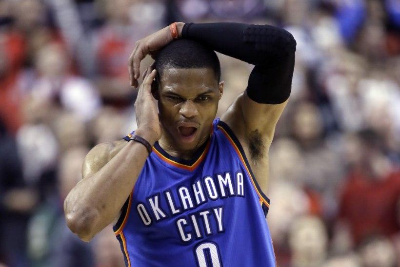 FOTOD: NBA staari näkku tekkis auk