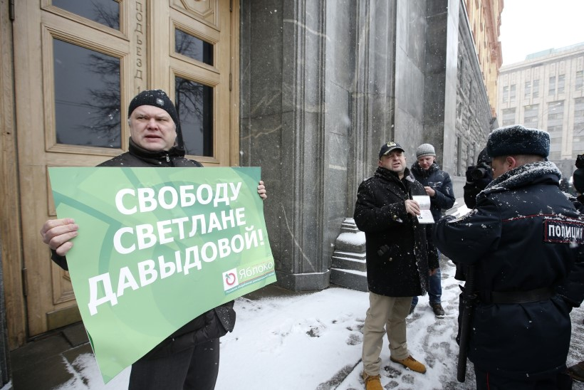 Riigireeturiks tembeldatud Svetlana pääses vanglast