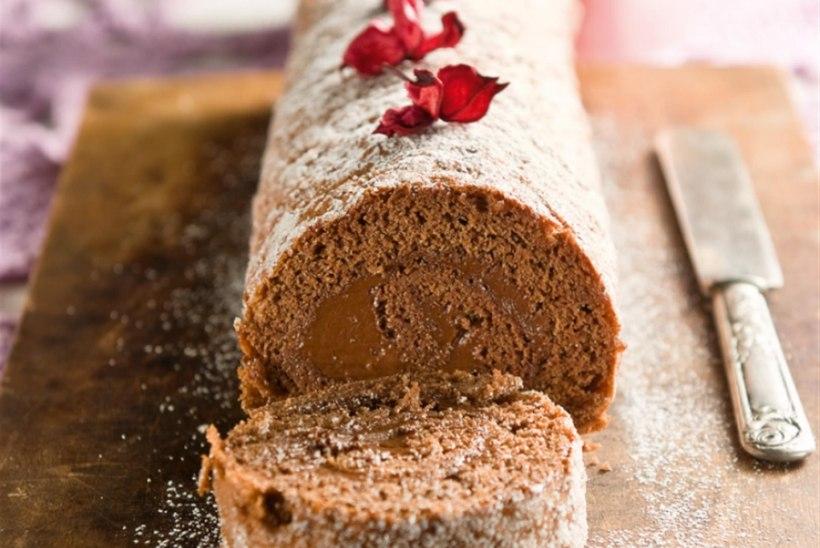 Šokolaadirull amarettokreemiga