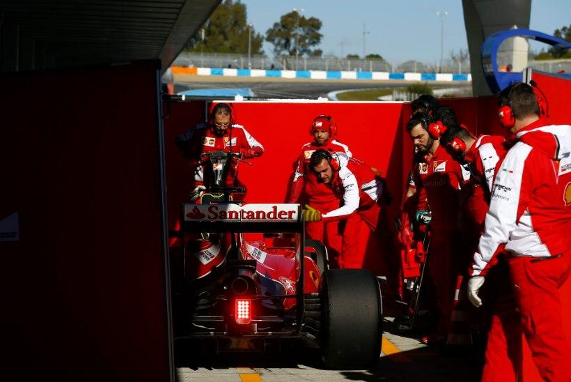 GALERII   Jerezi viimasel testipäeval kiireimat aega näidanud Räikkönen: see on ikkagi vaid algus