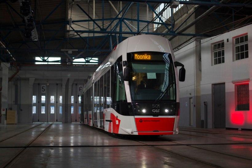 Vaata järele, kas Tallinnas hakkab sõitma ka mõni sinunimeline tramm!
