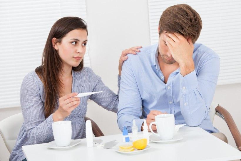 Miks gripp teeb mehed hädisemaks?
