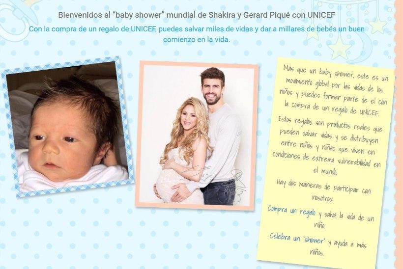 IMEARMAS! Shakira ja Piqué avaldasid oma vastsündinud pojast esimese foto