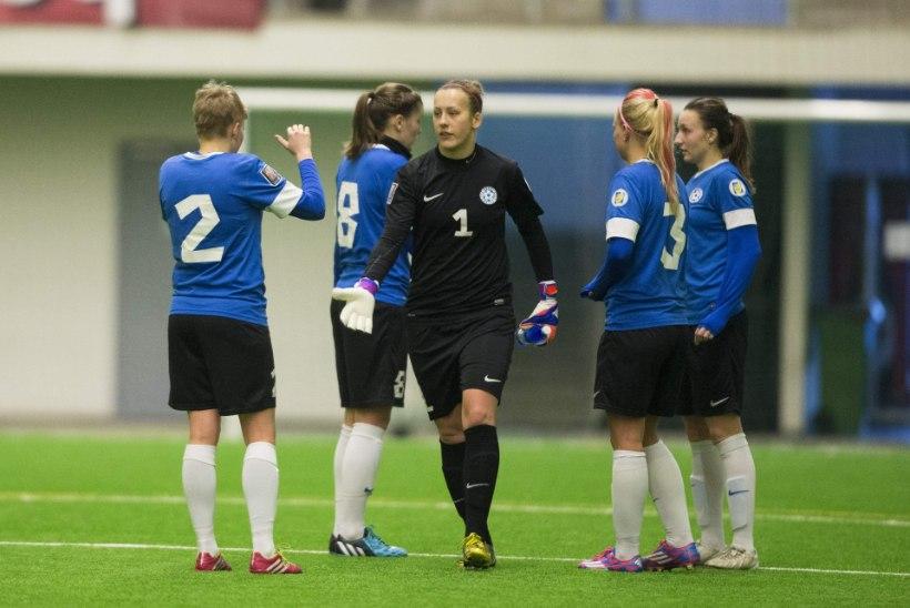Naiste jalgpallikoondises valitseb varajasest suurem konkurents