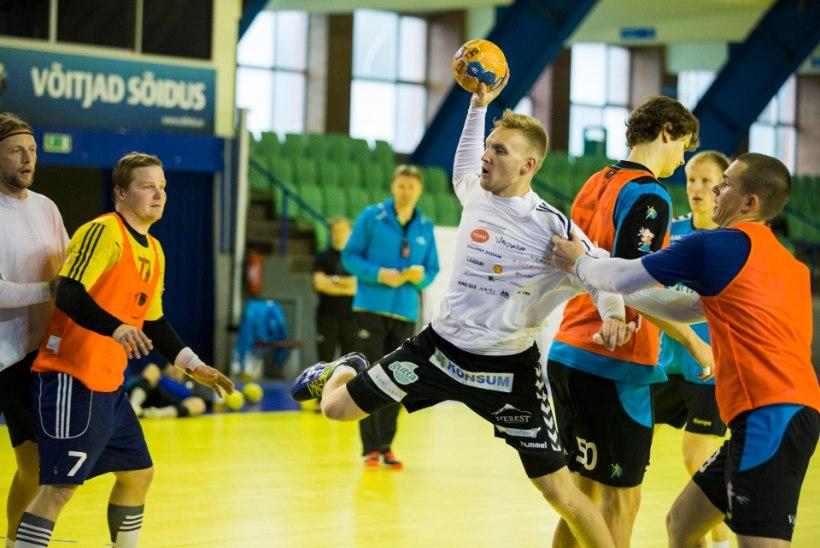 Kehra käsipallurid kaotasid Balti liiga tiitlikaitsjale