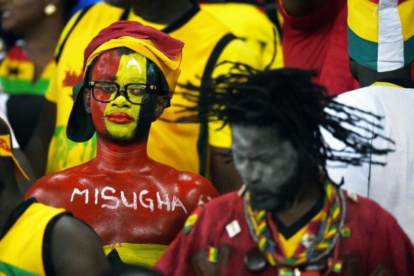 GALERII: Elevandid kordasid ajalugu ja alistasid pikas penaltiseerias Ghana