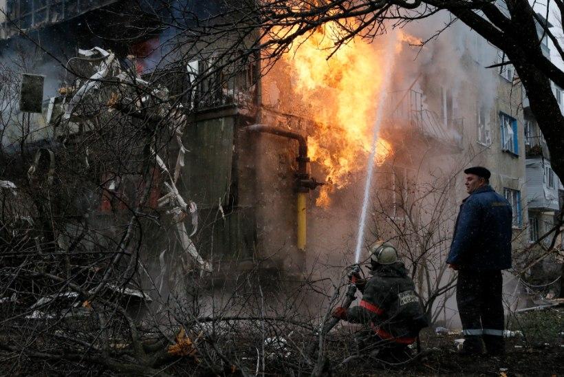 Vaatamata rahuponnistustele sõjategevus Ukrainas ei taltu