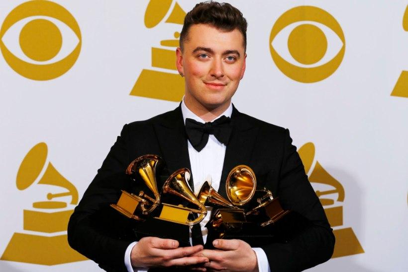 PÖÖRANE TÄHELEND: endine WC-koristaja Sam Smith võitis koguni neli Grammyt!
